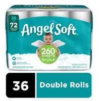 Angel Soft Toilet Paper, 36 Double Rolls (= 72 Regular Rolls)