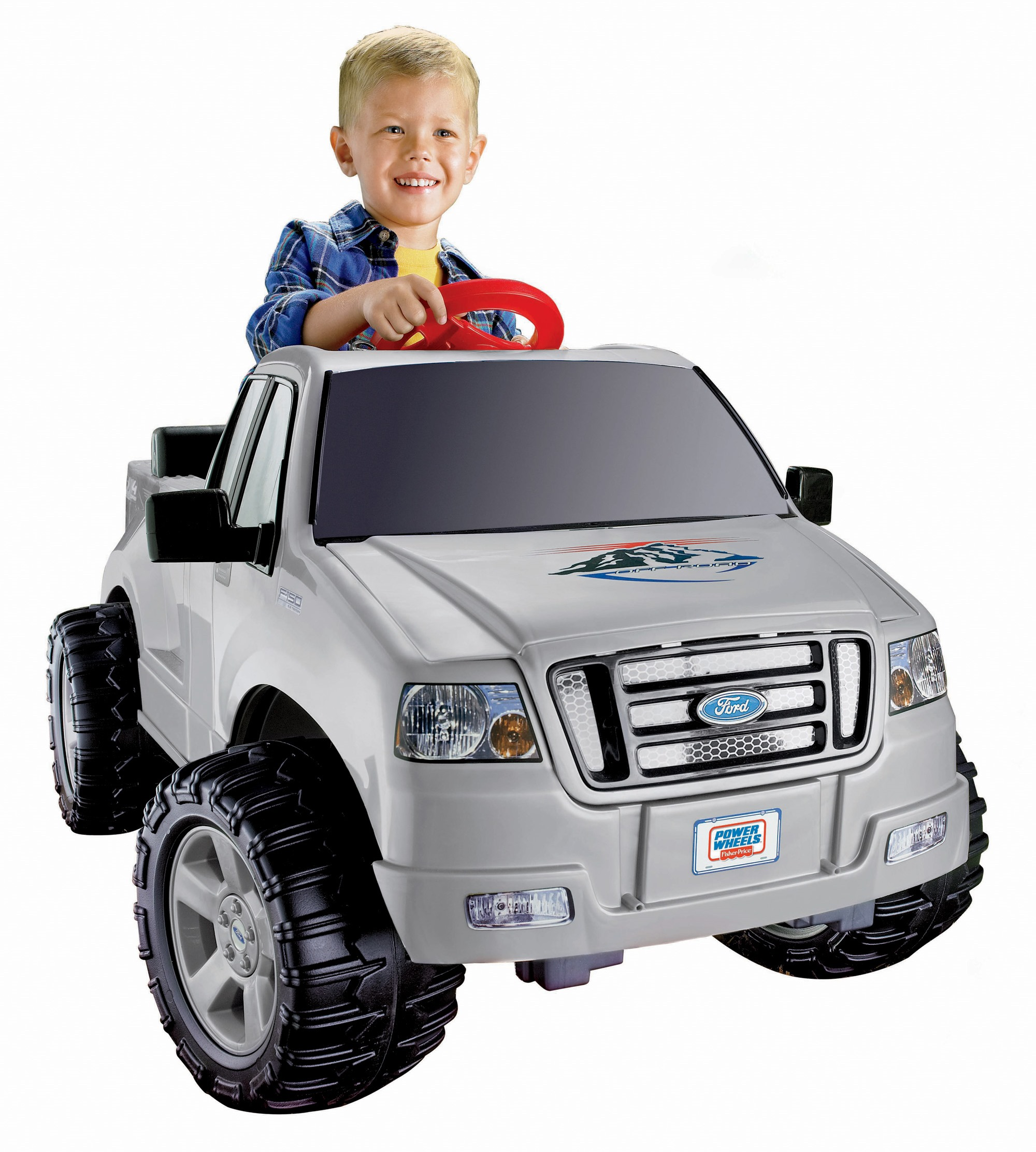 Power Wheels Lil' Ford F-150 6-Volt Battery-Powered Ride-On