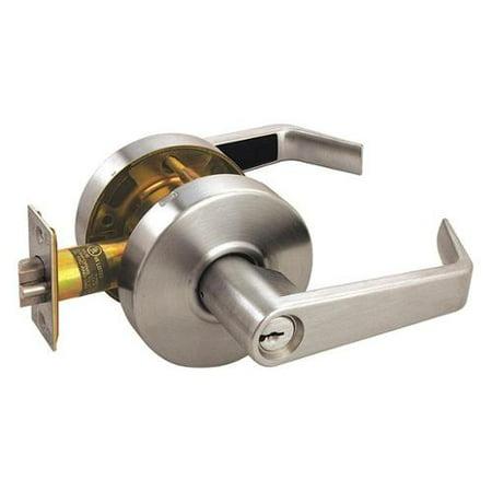 ARROW RL11SR 26D CS Door Lever Lockset,Angled,Entry,Grade