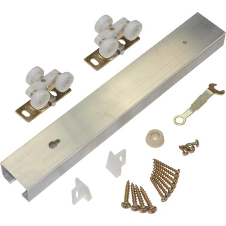Chrome Pocket Door Hardware - Johnson Hardware Pocket Door Hardware