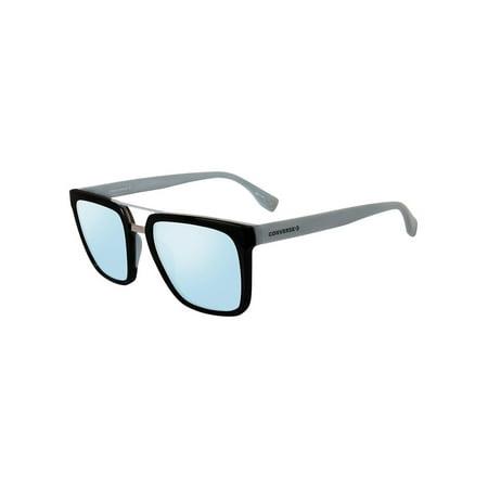 Converse SCO047530Z42 Mirrored Square Sunglasses Blue/Black - Converse Boys Sale