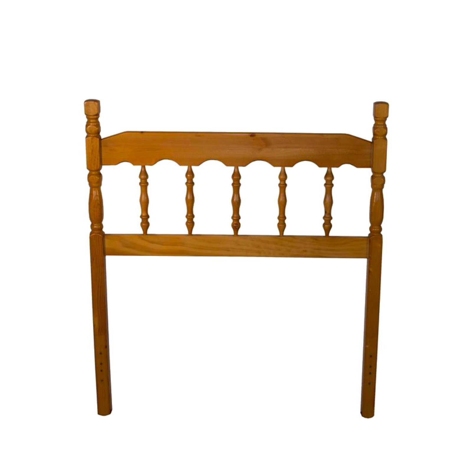 Bernards Pine Spindle Headboard - Honey