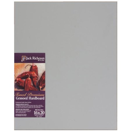 Richeson Toned Gesso Hardboard Panel - 16