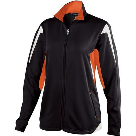 Holloway Lds Dedication Jacket Bk/Or/Wh M - image 1 de 1