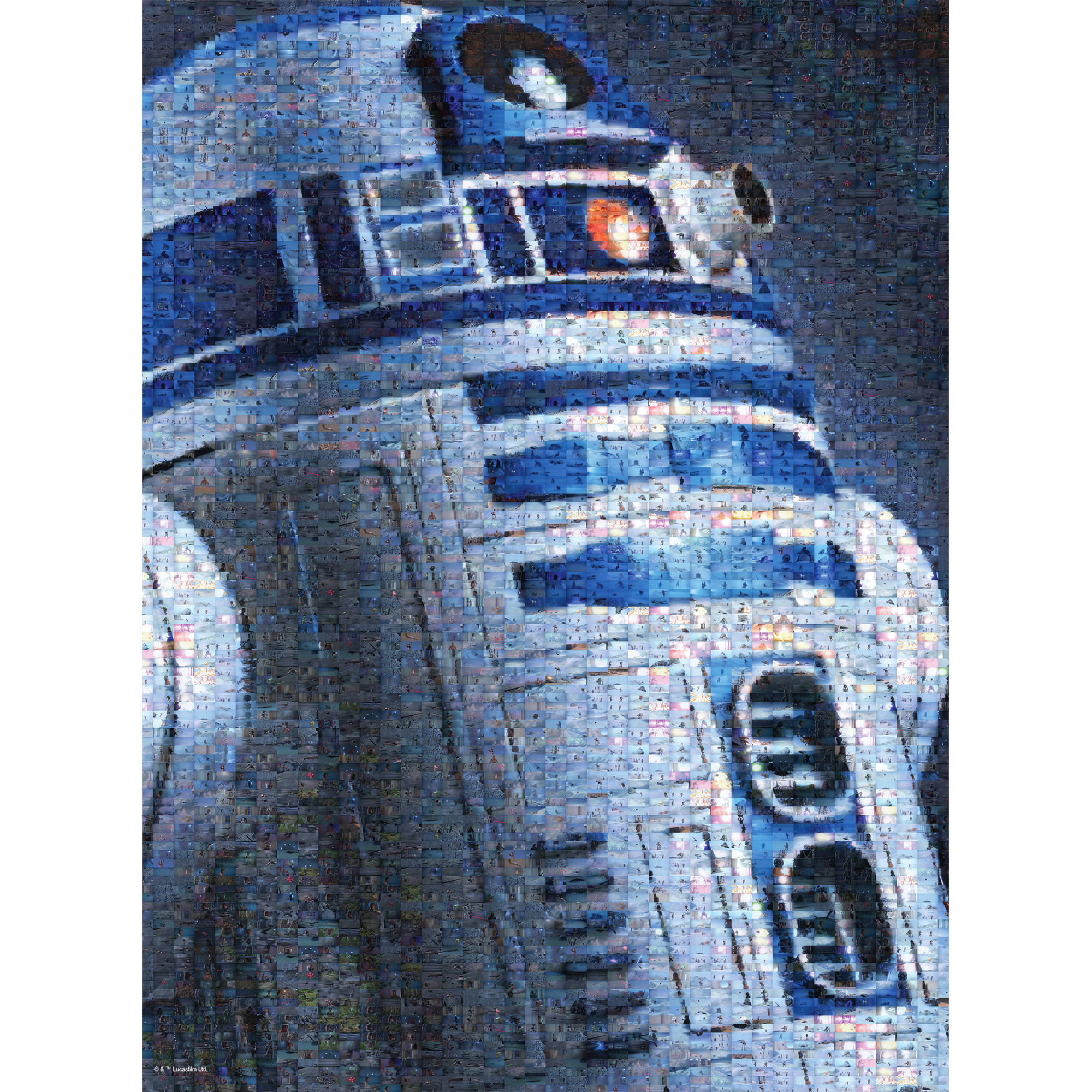 Buffalo Games Star Wars R2-D2 Jigsaw Puzzle, 1,000 Pieces