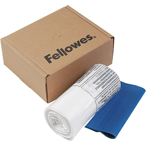 Fellowes Powershred Waste Bags for Professional and Deskside Shredders, 100 Bags/Box
