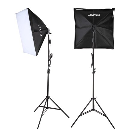 Craphy 700W Photography Continuous Softbox Light Lighting Kit Photo