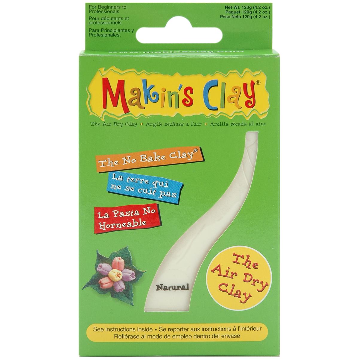 Makin's Clay Air-dry Clay 120g-Natural
