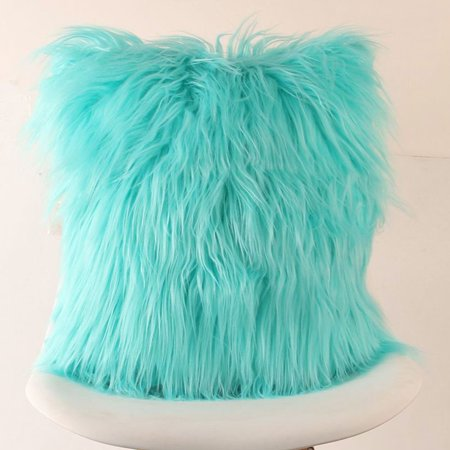 Plush Furry Cushion Cover Throw Pillow hotsales Case Home Bed Room Sofa Decor
