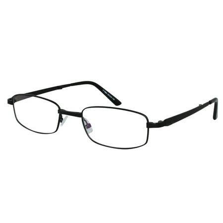Ebe Reading Glasses Mens Womens Rectangular Folding Full Rim Stainless Steel remarkable grade Anti Glare yt863