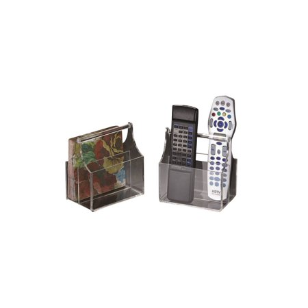 Acrylic Lucite Remote Control/ Clicker or Cocktail Napkin Caddy