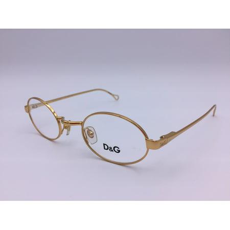 Dolce & Gabbana DG 5024 026 Gold Eyeglasses 43mm (D & G Eyeglass Frames)