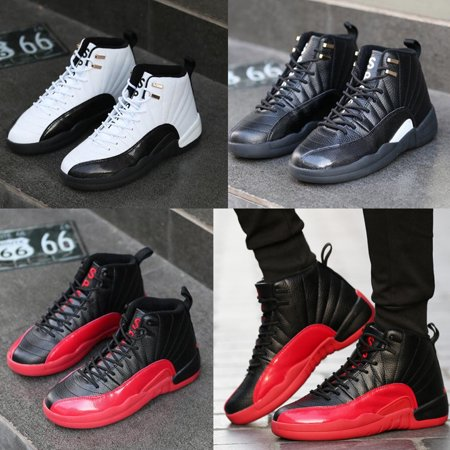 Mens High Top Sneakers Shoes Hidden Heel Trainer Boots Athletic Basketball