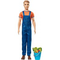 Barbie Sweet Orchard Farm Ken Doll with Blue Pail & Accessories