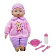 Lissi 16 Inch Soft Baby Doll w/ Feeding Accessories