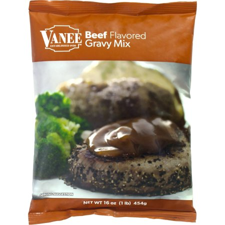 16 Ounce Pear (Vanee Beef Flavored Gravy Mix 16oz (PACK OF 8) )