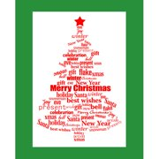 Secretly Designed Word Christmas by Secretly Spoiled Textual Art