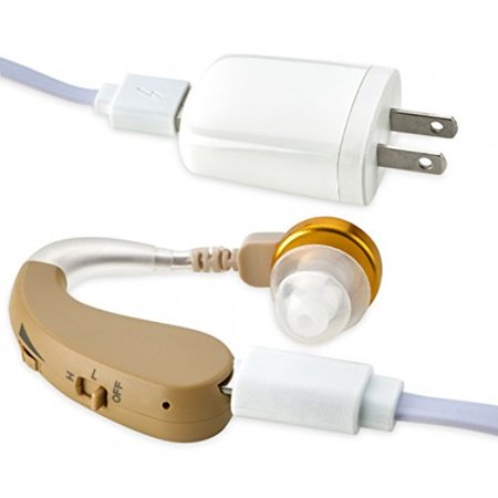 Newear Bte High Quality Digital Hearing Aid And Ear Hearing Amplifier For Left Or Right Ear