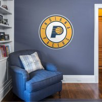 Fathead Indiana Pacers: Alternate Logo - Giant Officially Licensed NBA Removable Wall Decal