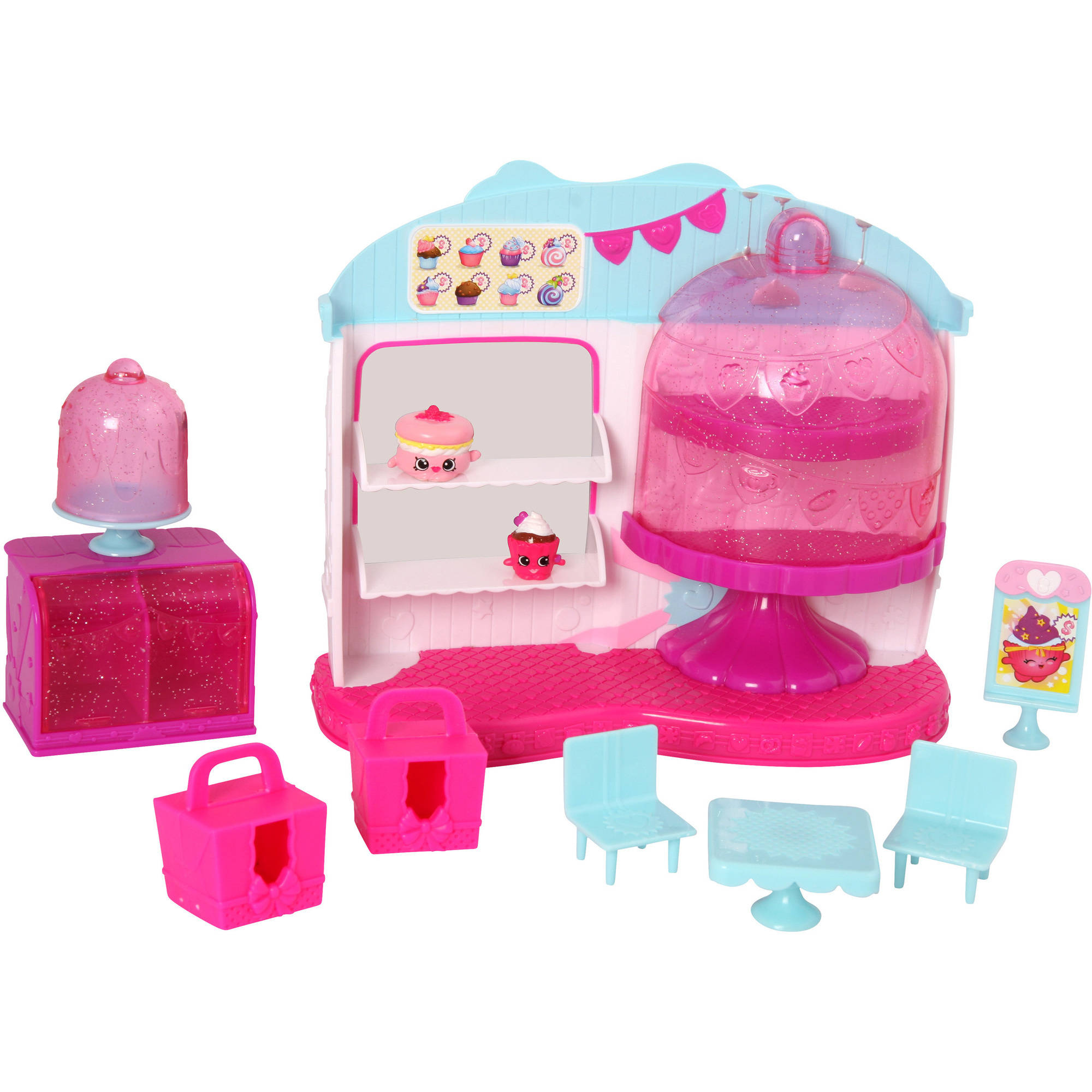 Shopkins S4 MP PLAYS Queens Cup Cake Play-Set