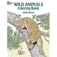 Dover Nature Coloring Book: Wild Animals Coloring Book (Paperback)