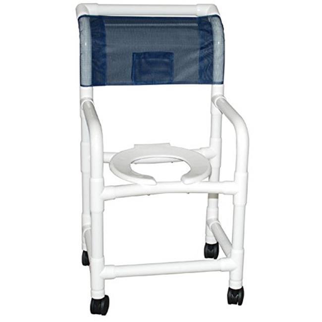 MJM International 118-3TW-FS Shower Chair 18 in.