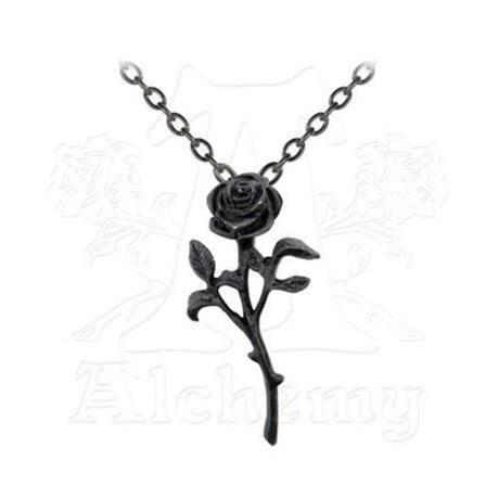 Alchemy gothic p695 the romance of the black rose pendant pendants mozeypictures Images