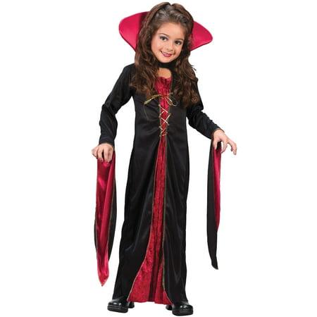 Victorian Vampiress Chld Lg