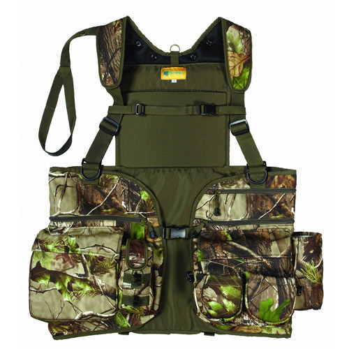 HS Strut Deluxe Sports Utility Vest, Realtree AP Green HD