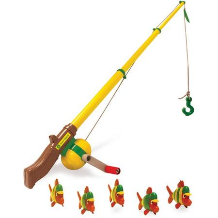 TOMY John Deere, Electronic Fishing Pole](Fishing Toy)
