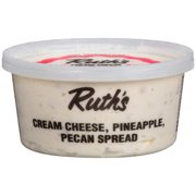 Ruth's Cream Cheese, Pineapple, Pecan Spread, 12 oz