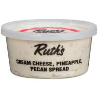 Ruth's Cream Cheese, Pineapple, Pecan Spread, 12 oz