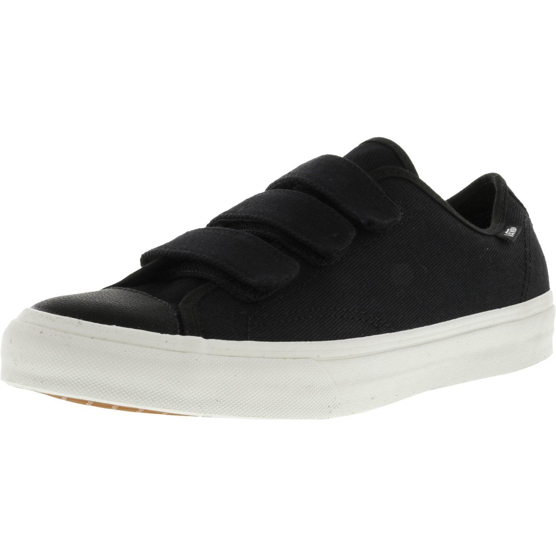 9ab52ea359dd1f Vans - Vans Men s Prison Issue Twill True White   Blanc De Ankle-High  Canvas Skateboarding Shoe - 12M - Walmart.com