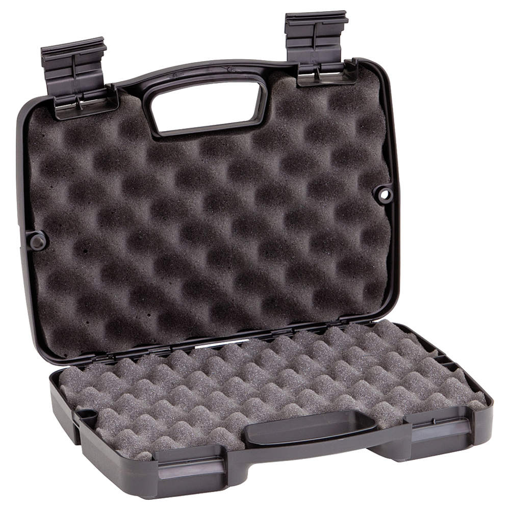 PLANO MOLDING Case, 13-1/2 In Lx10-1/8 In Wx3, Black 10-10137