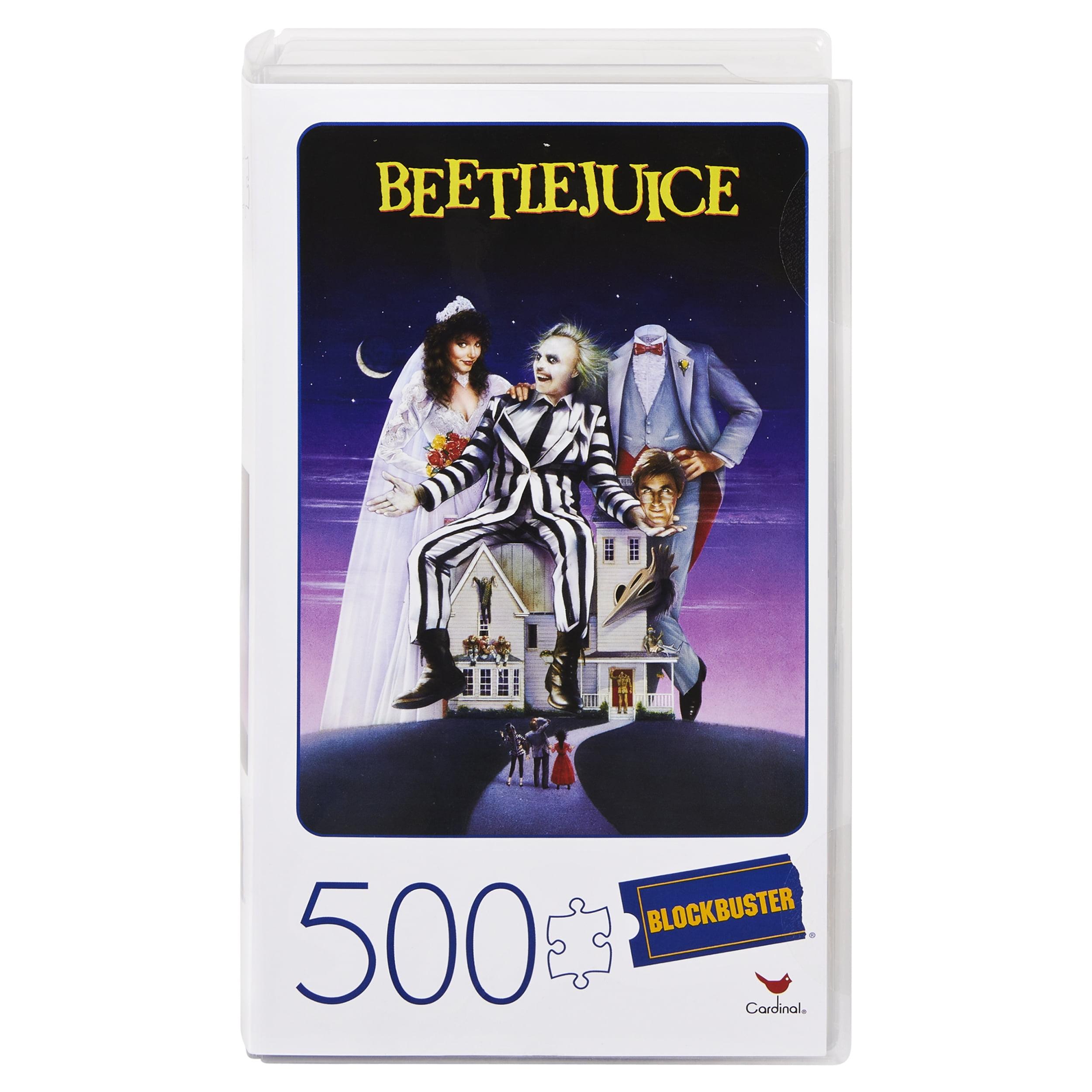 Beetlejuice Blockbuster Puzzle 500 Piece