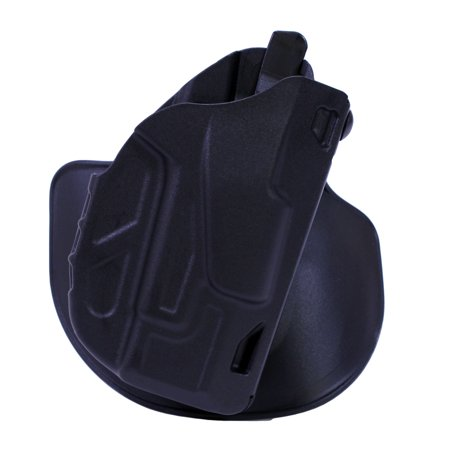 Concealment Holster - Safariland 7TS ALS Open Top Concealment Paddle Holster Glock 26/27, Plain Black, Right Hand
