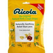 Ricola Family Pack Original Natural Herb Cough Suppressant/Throat Drops 50 Ea