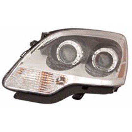 Go-Parts » 2008 - 2012 GMC Acadia Front Headlight Headlamp Assembly Front Housing / Lens / Cover - Left (Driver) 20912393 GM2502358 Replacement For GMC Acadia (Gmc Front Light)
