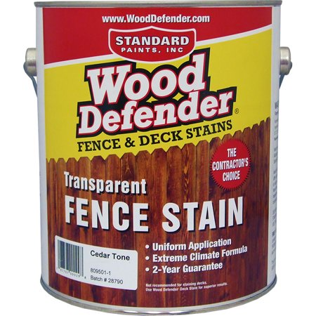 Wood Defender Transparent Fence Stain CEDAR TONE