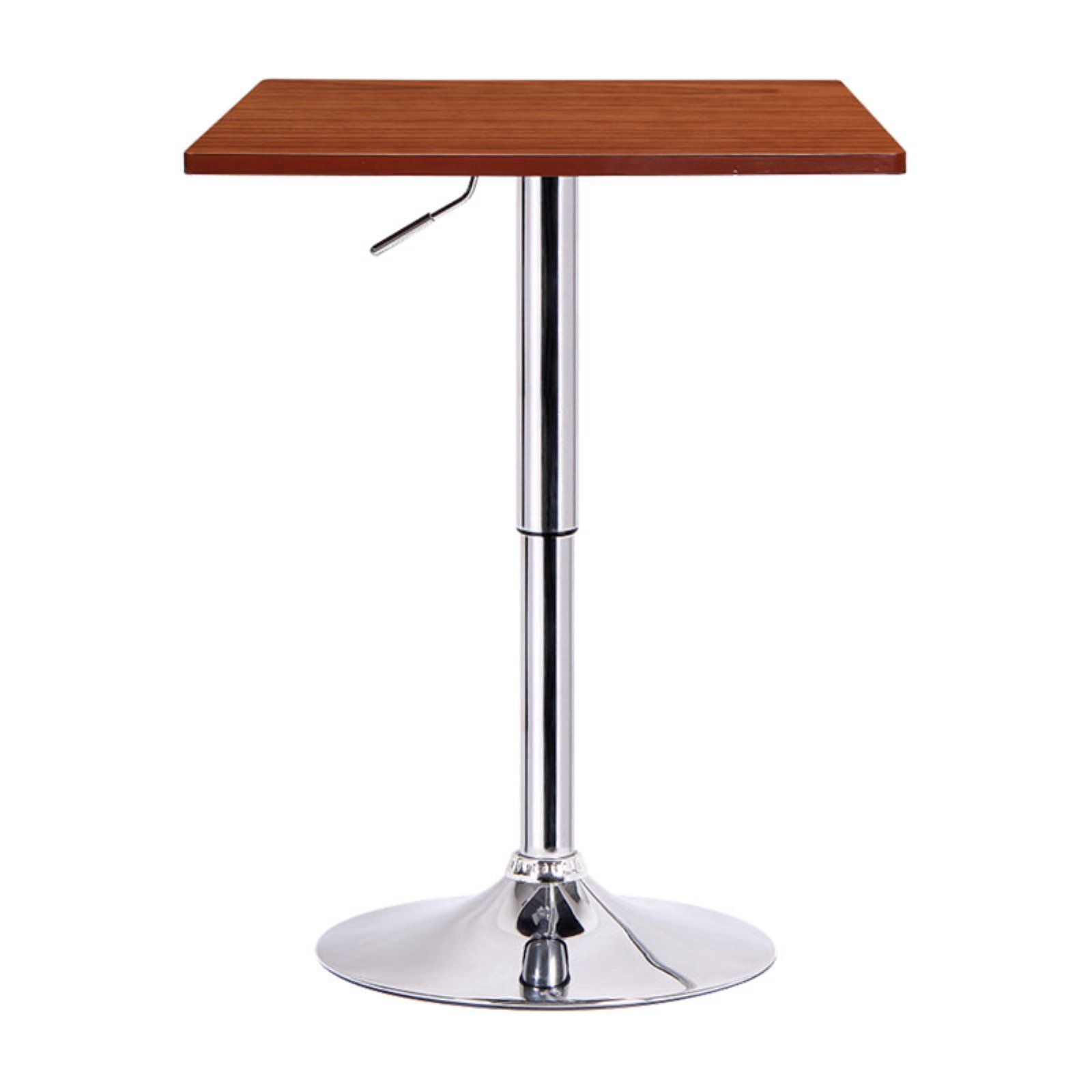 Boraam Luta Square Adjustable Height Pub Table, Multiple Colors by Boraam