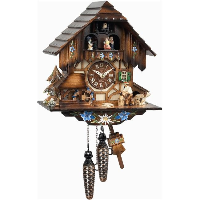 Alexander Taron 463MT Engstler Weight-driven Cuckoo Clock - Full Size