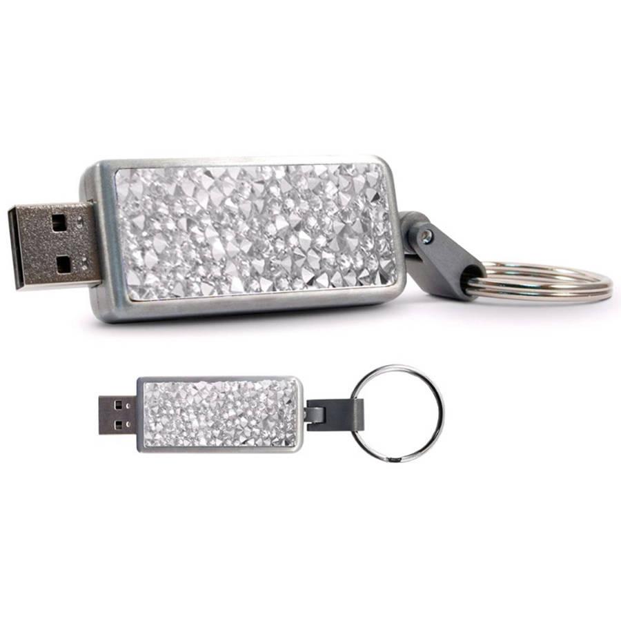 Swarovski Crystal USB 3.0 Keychain V2, 16GB