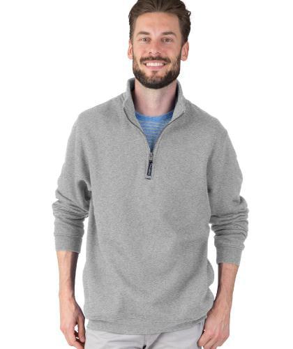 Regular /& Big-Tall Sizes Charles River Apparel Mens Crosswind Quarter Zip Sweatshirt