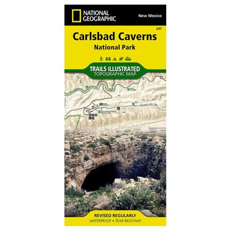 National Geographic, Trails Illustrated, Carlsbad Caverns National Park: New Mexico, USA (Trails Illustrated - Topo Maps -  TI00000247