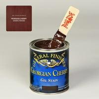 Gel Stain, Oil Based, Georgian Cherry, Quart