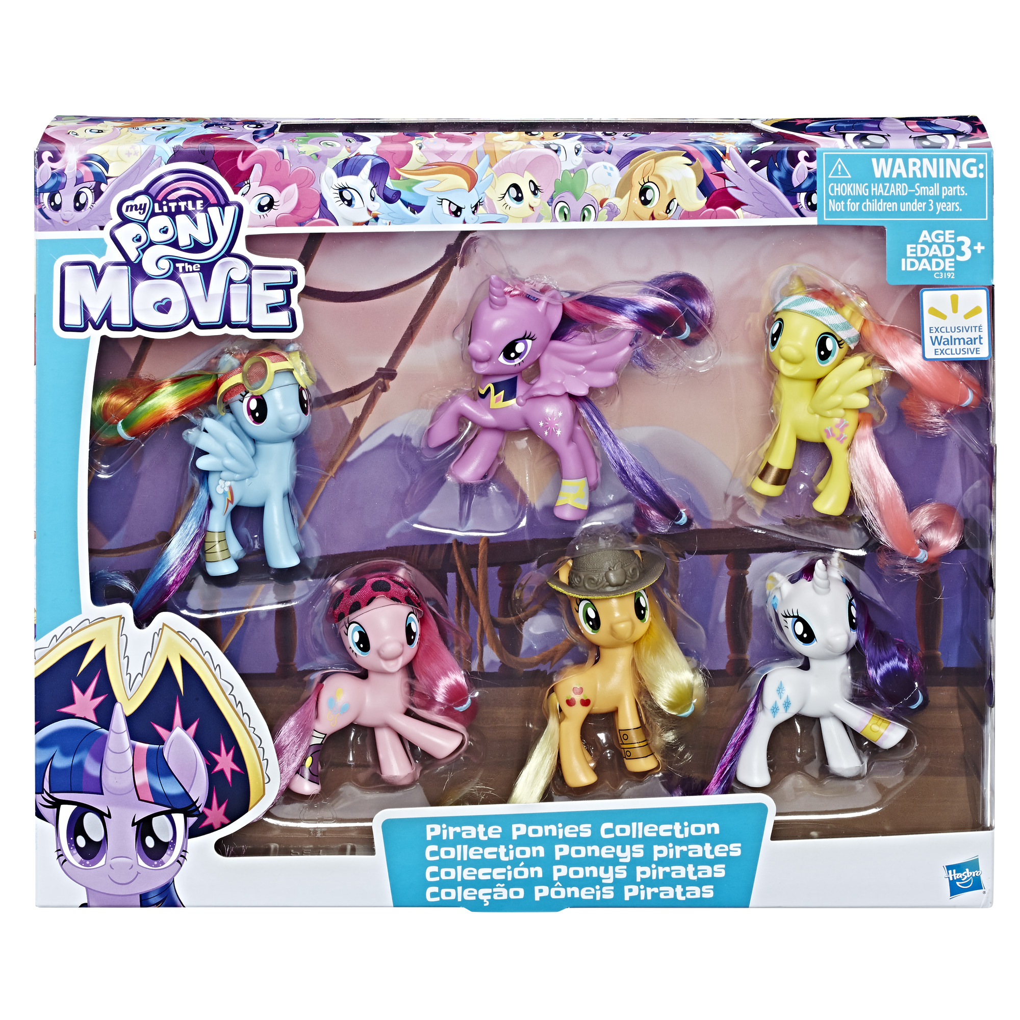 My Little Pony the Movie Pirate Ponies, Walmart Exclusive Collection