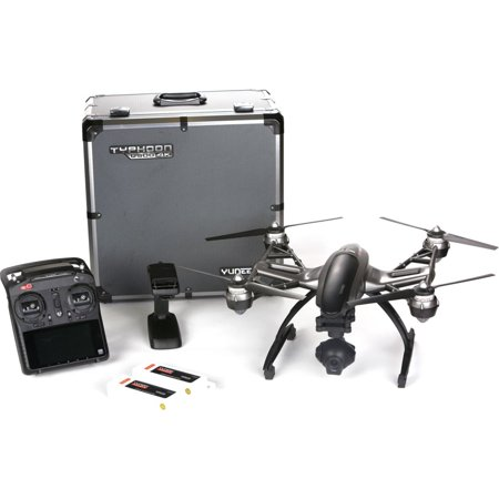 Yuneec Q5004k Typhoon Drone Yunq4kpus Q5004k Rtf In Alumi Case W/cgo3,st10+, Steadygrip,2 Batteries, Charger [us Plug]