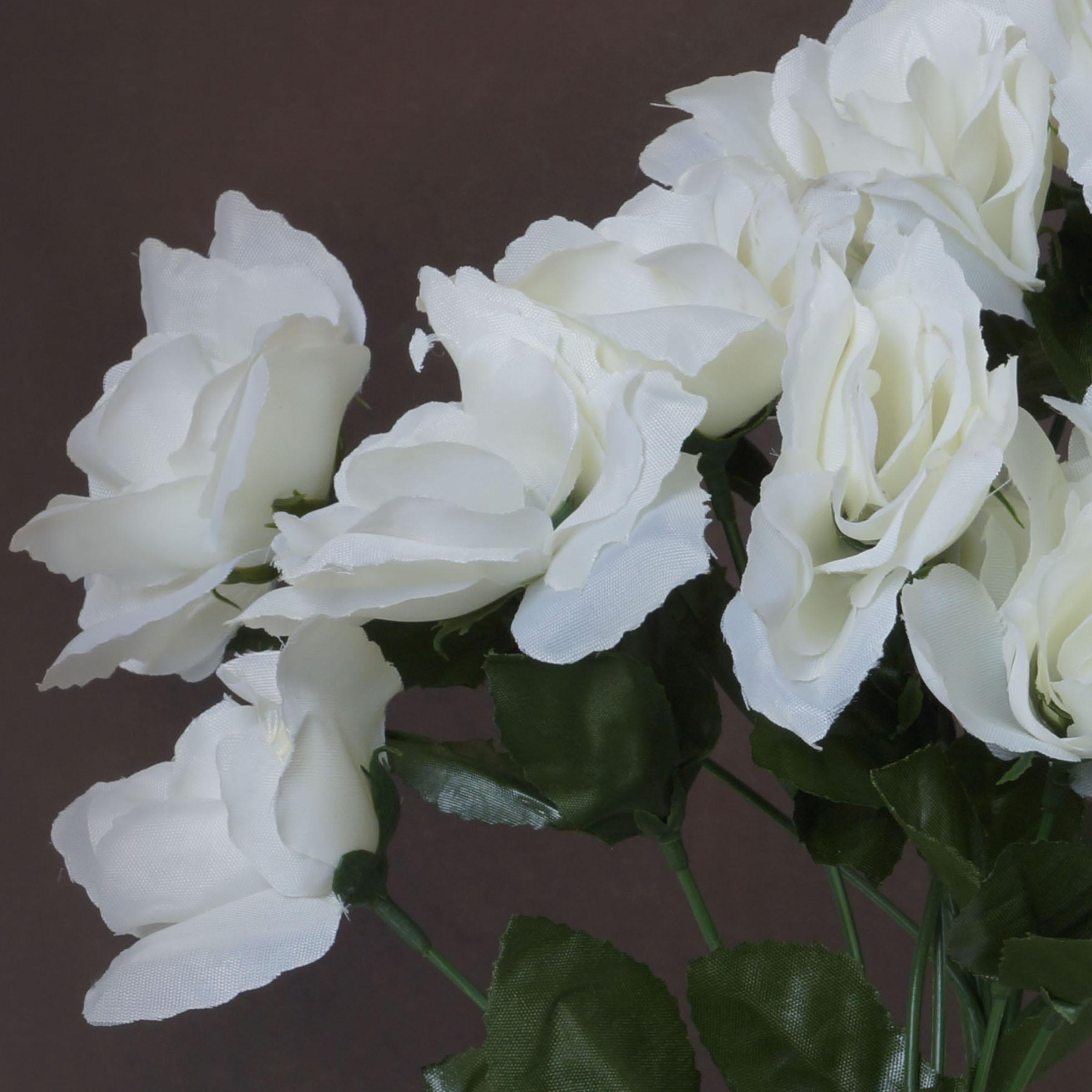 BalsaCircle 84 Silk Open Roses Bouquets - DIY Home Wedding Party ...