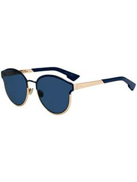 a4f800c9b22 Product Image Christian Dior Symmetric blue marble rose gold blue Sunglasses