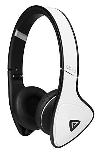 Monster DNA On-Ear Headphones White Tuxedo by Monster